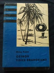náhled knihy - Ostrov tisíce drahokamů (KOD sv. 74, lam., 304 s., il. V. Kovářík)