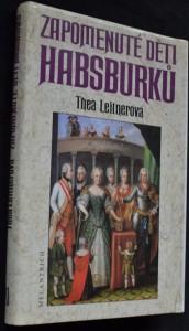 náhled knihy - Zapomenuté děti Habsburků