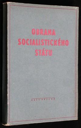 náhled knihy - Obrana socialistického státu