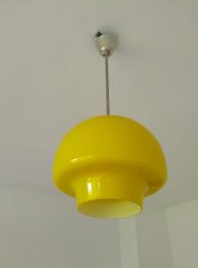 náhled knihy - Žlutý retro lustr , brusel