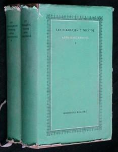 náhled knihy - Anna Kareninová 2 svazky