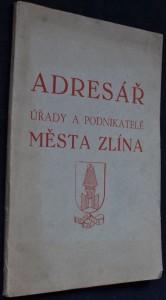náhled knihy - Adresář úřady a podnikatelé města Zlína