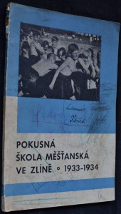 náhled knihy - Pátá výroční zpráva pokusné diferenciované školy měšťanské ve Zlíně (za rok 1933-34)