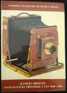 náhled knihy - Kamery obskury, fotografické přístroje z let 1840 - 1940