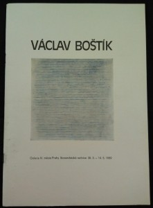 náhled knihy - Václav Boštík : [Výběr z výtvarného díla] : Katalog výstavy, Praha 30. 3.-14. 5. 1989