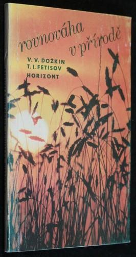 náhled knihy - Rovnováha v přírodě