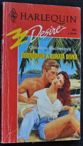 náhled knihy - Dobrodruh a bohatá dívka