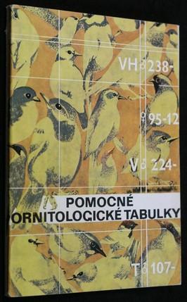 náhled knihy - Pomocné ornitologické tabulky