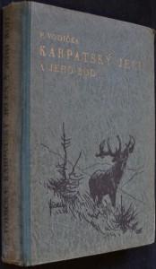 náhled knihy - Karpatský jelen a jeho rod