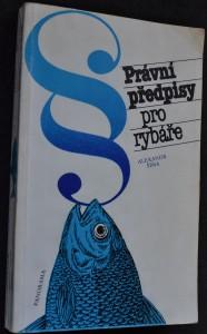 náhled knihy - Právní předpisy pro rybáře
