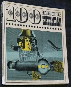 náhled knihy - 100 letý kalendář