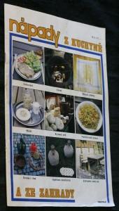 náhled knihy - Nápady z kuchyně a ze zahrady