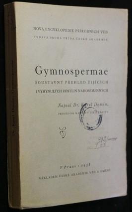 náhled knihy - Gymnospermae : Soustavný přehled žijících i vyhynulých rostlin nahosemenných