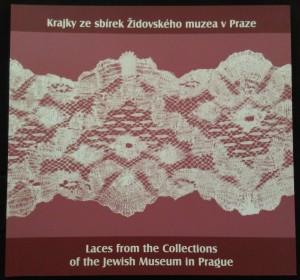 náhled knihy - Krajky ze sbírek Židovského muzea v Praze = Laces from the collections of the Jewish Museum in Prague