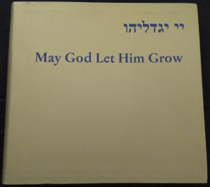 náhled knihy - May God let him grow : a child's birth in the culture and customs of Bohemian and Moravian Jews