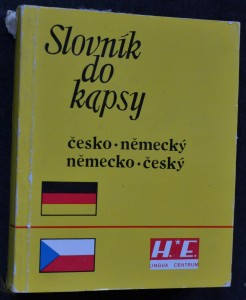 náhled knihy - Česko-německý, německo-český slovník
