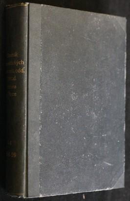 náhled knihy - Sborník faunistických prací entomologického oddělení Národního musea v Praze 1956 - 1959