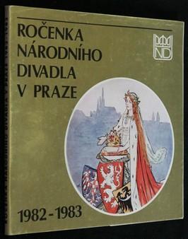 náhled knihy - Ročenka Národního divadla v Praze 1982-1983