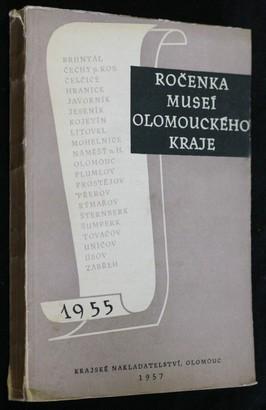 náhled knihy - Ročenka museí Olomouckého kraje