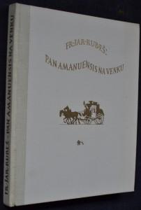 náhled knihy - Pan Amanuensis na venku, aneb, Putování za novelou : obrázky ze života