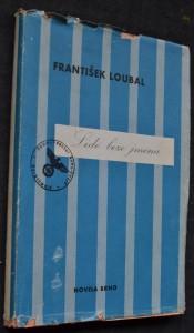 náhled knihy - Lidé beze jména : [Špilberk-Dachau-Buchenwald]