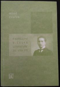 náhled knihy - O katolictví v české literatuře 20. století