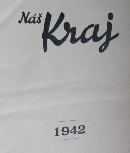 antikvární kniha Náš kraj 1942, 1942
