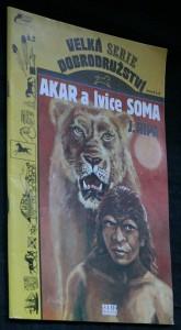 náhled knihy - Akar a lvice Soma