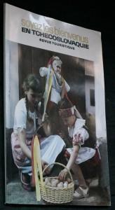 náhled knihy - Soyez les bienvenus en Tchecoslovaquie revue touristique