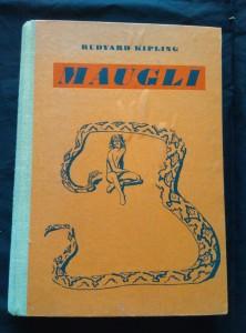 náhled knihy - Mauglí - výbor z Knih džunglí (A4, Oppl, 6 3bar příloh a 20 bar pérovek Z. Burian, b ob.)
