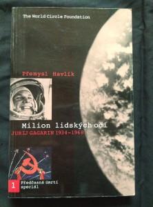 náhled knihy - Milion lidských očí - Jurij Gagarin 1934 - 1968 - Předčasná úmrtí (Obr, 150 s.)