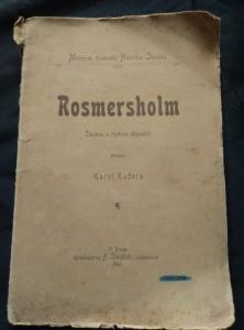 náhled knihy - Rosmersholm, přel. K. Kučera