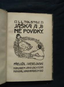 náhled knihy - Jáška a jiné povídky (Ppl, 112 s.)