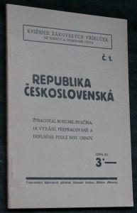 náhled knihy - Republika československá