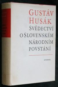 náhled knihy - Svědectví o Slovenském národním povstání