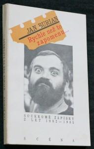 náhled knihy - Rychle než to zapomenu... : soukromé zápisky z let 1982-1985