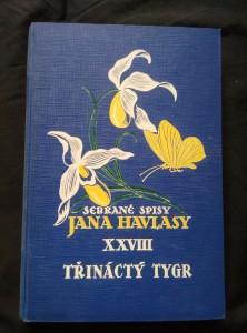 náhled knihy - Třináctý tygr (A4, Ocpl, 192 s.)