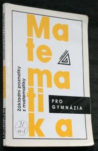 náhled knihy - Matematika pro gymnázia. Základní poznatky