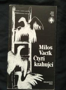 náhled knihy - Čtyři krahujci (Obr, 88 s., ob a il. V. Komárek, dedikace autora)
