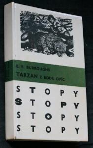 náhled knihy - Tarzan z rodu Opíc