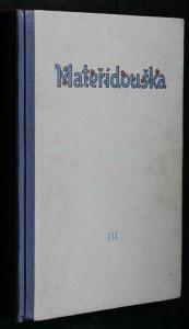 náhled knihy - Mateřídouška, číslo 1, ročník III.
