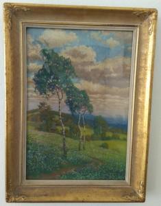 náhled knihy - Jaro Kučera, barevný pastel, signováno