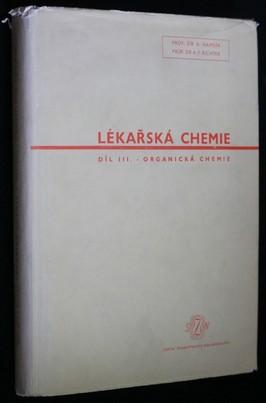náhled knihy - Lékařská chemie. Díl 3