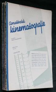 náhled knihy - Amatérská kinematografie č. 3.-12. (chybí 1., 2. číslo- leden, únor)