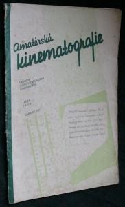 náhled knihy - Amatérská kinematografie č. 1 (leden)