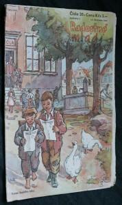 náhled knihy - Radostné mládí č. 20, ročník 2.