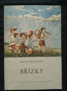 náhled knihy - Břízky (Obr., 48 s., ob a il. O. Mahelka)