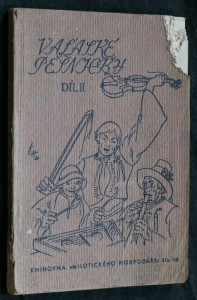 náhled knihy - Vaĺaské pěsničky