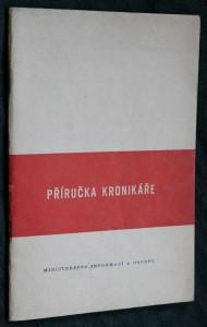 náhled knihy - Příručka kronikáře : Prozatímní pokyny pro ved. obecních kronik