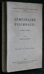 náhled knihy - Zemědělské písemnosti